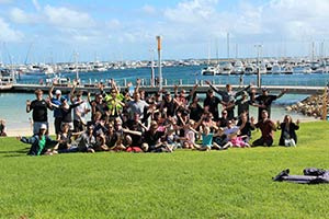 A-group-of-2012--Volunteers-at-Hillarys-Boat-Harbour