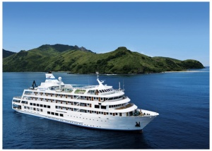 Captain Cook Cruises Fiji flagship MV Reef Endeavour