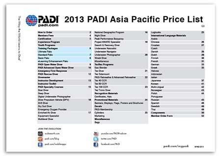 Sales Price List 18