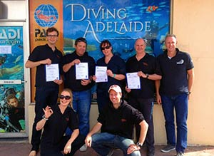 Diving Adelaide