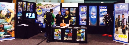 Dive HQ Albany recently participated in a Career's Expo on the North Shore in New Zealand where they gained exposure to over 5000 school students, careers advisors and parents.
