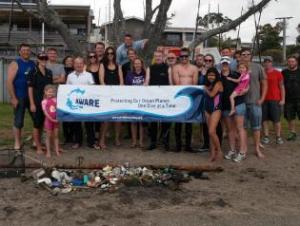 Great turn out for Project Aware Dive for Debris organised by Performance Diver