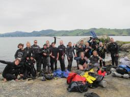 Dive Clean Up - Group shot (4)