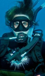 Tracey - under water