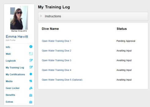 training-log