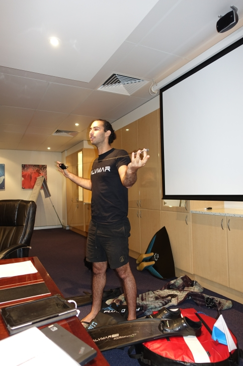Learning about Freediving equipment