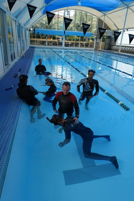 Static Apnea training