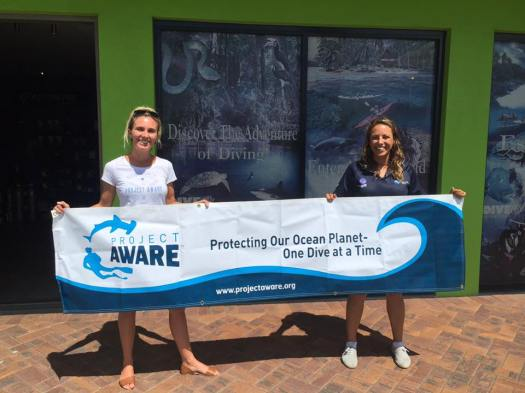 brisbane dive academy - jess and hannah