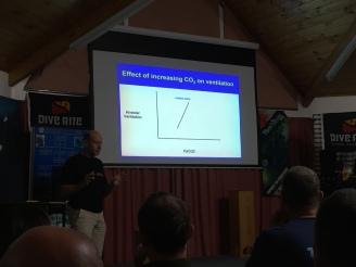 Dr Simon Mitchel presenting