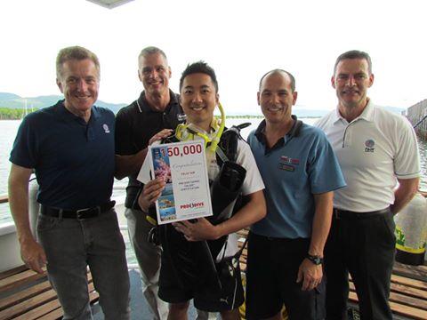 Pro Dive Cairns - 150,000th Cert