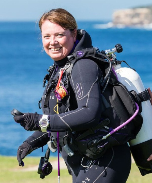Rebecca Wastall, PADI Asia Pacific Quality Management Consultant